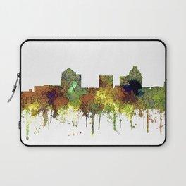 Greensboro NC Skyline SG - Safari Buff Laptop Sleeve