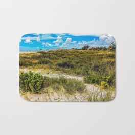 Florida Beach Greens Bath Mat