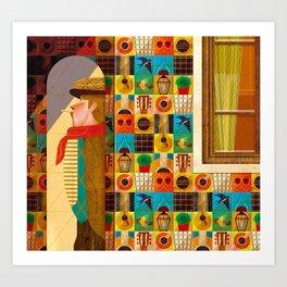 Lisbon's Fado Art Print