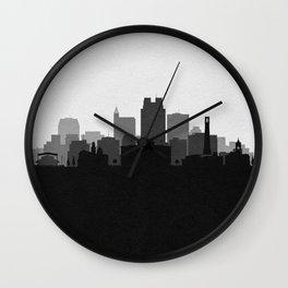 City Skylines: Raleigh Wall Clock