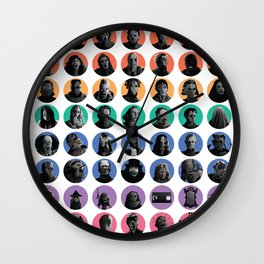 Oh, the Horror! Wall Clock