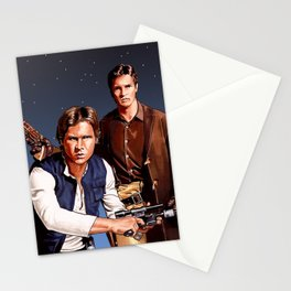 The Captain and The Scoundrel Stationery Cards