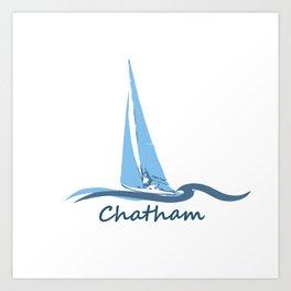 Chatham, Cape Cod Art Print