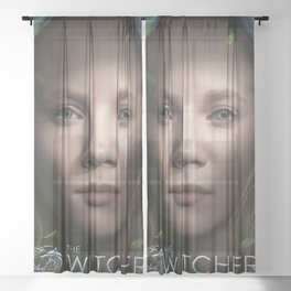 The Witcher - Freya Allan Sheer Curtain