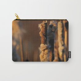 Cattails in winter Carry-All Pouch