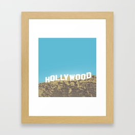 Hollywood Gold Rush Framed Art Print
