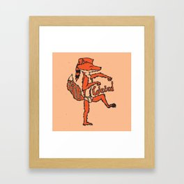 Be A Little Weird Framed Art Print