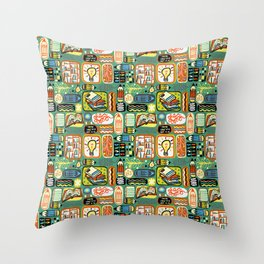 Reading and Writing Throw Pillow