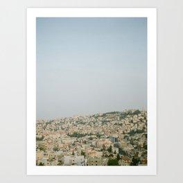 Morning over Nazareth - Fine Art Travel Photography Art Print