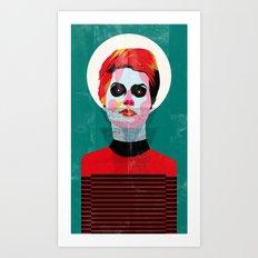 girl_131113 Art Print