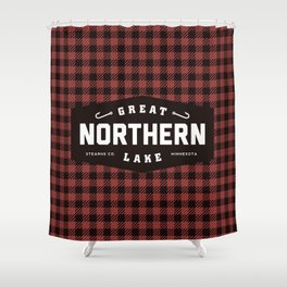 Great Northern Lake Shower Curtain