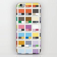 Poke-Pantone 6 (Kalos Region) iPhone & iPod Skin
