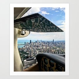 Bob's Bird (Chicago Skyline) Art Print