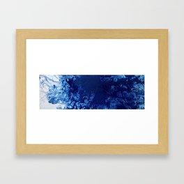 Inner Sapphire Framed Art Print