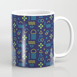 Geometry Design Coffee Mug