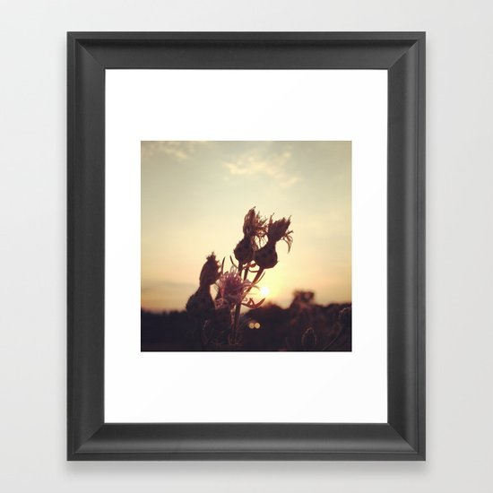 Rise to the Day Framed Art Print