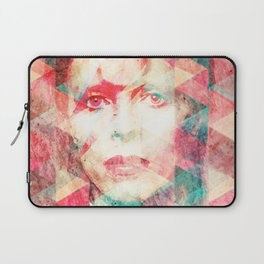Bowie abstraction Laptop Sleeve