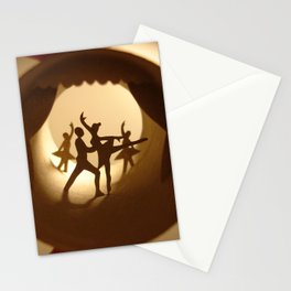 "Roll ""Ballet"" (Rouleau ""Ballet"") Stationery Cards"