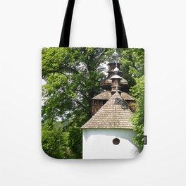 Cerkiew w Bielicznej Tote Bag