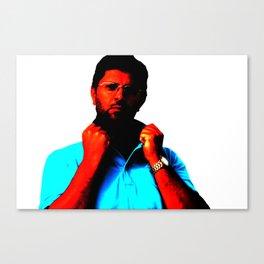 Man surrealistic portrait Canvas Print