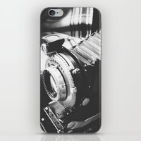 old school iPhone & iPod Skins featuring Old school  by Olivier P.