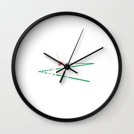 Funny Laser Tag Party T-Shirt Mode On It s all about laser tag Wall Clock