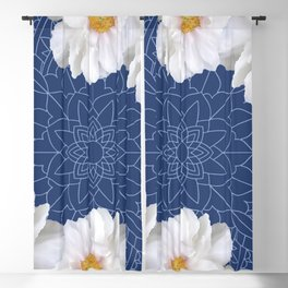 Daises and Mandala Blackout Curtain