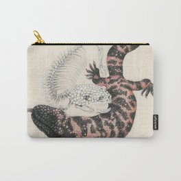 Gila Monster & Skeleton Carry-All Pouch