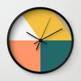 Abstract Geometric 18 Wall Clock