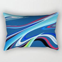 On The Wave Rectangular Pillow