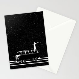 Starry Night Viewing Stationery Cards