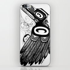 Raven Steals the Water iPhone & iPod Skin