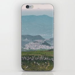 Most beautiful village of Sicily iPhone Skin