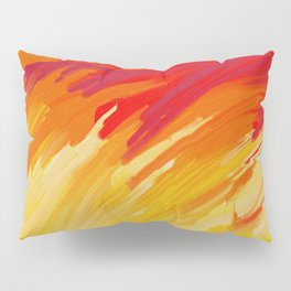 Come Aflame Painting Pillow Sham