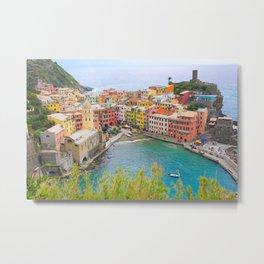 Vernazza, Cinque Terre, Italy Metal Print