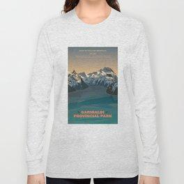 Garibaldi Park Poster Long Sleeve T-shirt