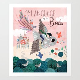 Language of the birds Art Print