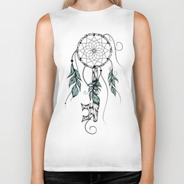 Poetic Key of Dreams Biker Tank