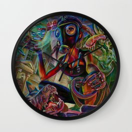 Lady Extinction Wall Clock