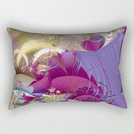 Feelings of being in love -- Fractal illustration Rectangular Pillow