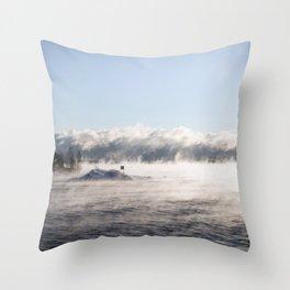-19 degrees Celsius Throw Pillow