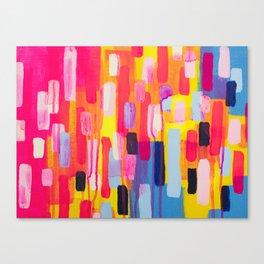 Neon Cities Canvas Print