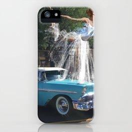 '56 Vintage Hood Ornament iPhone Case