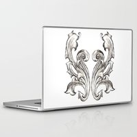 baroque Laptop & iPad Skins featuring Baroque by Raeesa Brey
