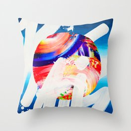 REALITY - A LIE TRY Throw Pillow