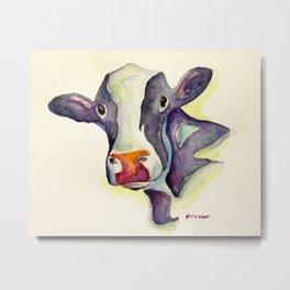 The Cow Metal Print