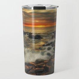 Basaltic Sunset Travel Mug