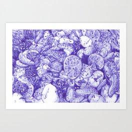 Porno Fruta Art Print