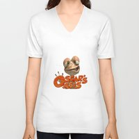 oasis V-neck T-shirts featuring oscar's oasis by store2u
