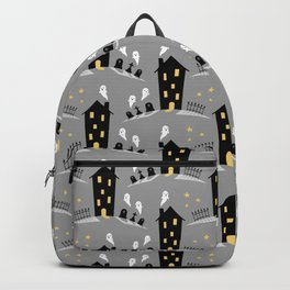 Haunted house Backpack